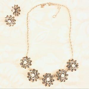 Banana Republic Necklace & Earrings Set